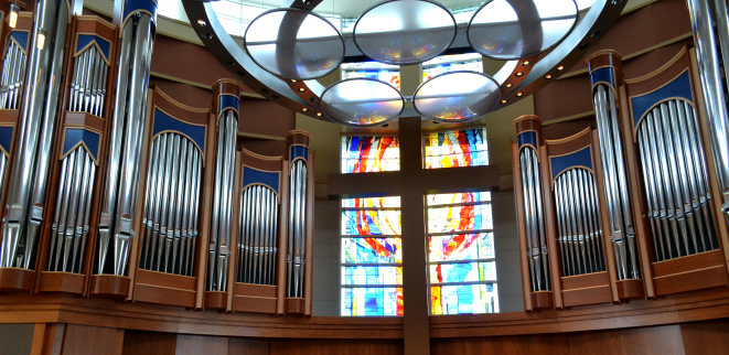 Belin Chapel at Houston Baptist University